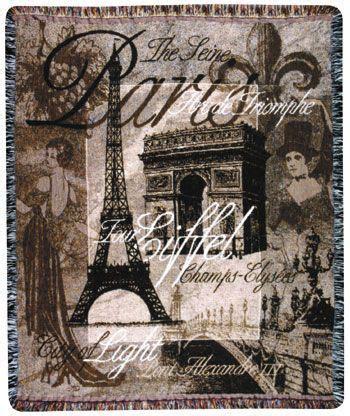 paris mid size tapestry throw tpm paris