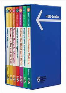 HBR Guides Boxed Set (7 Books)