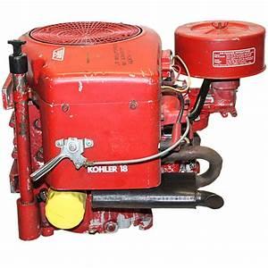 18hp Kohler Vert Engine 1 U0026quot Dx3 32 U0026quot L Magnum Used