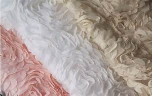 3d rosette fabrics chiffon lace wedding dress fabric by With wedding dress fabric