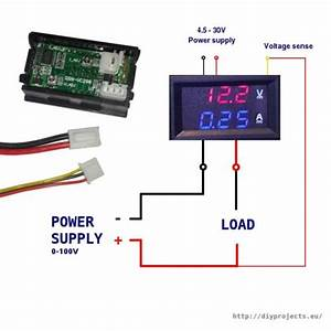 12 Volt Ammeter Wiring Diagram