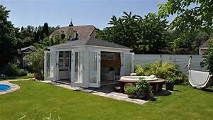 Gartenhaus Gemütlich Einrichten : blockbohlenhaus einrichten urlaubsgef hl f r zu hause ~ Orissabook.com Haus und Dekorationen