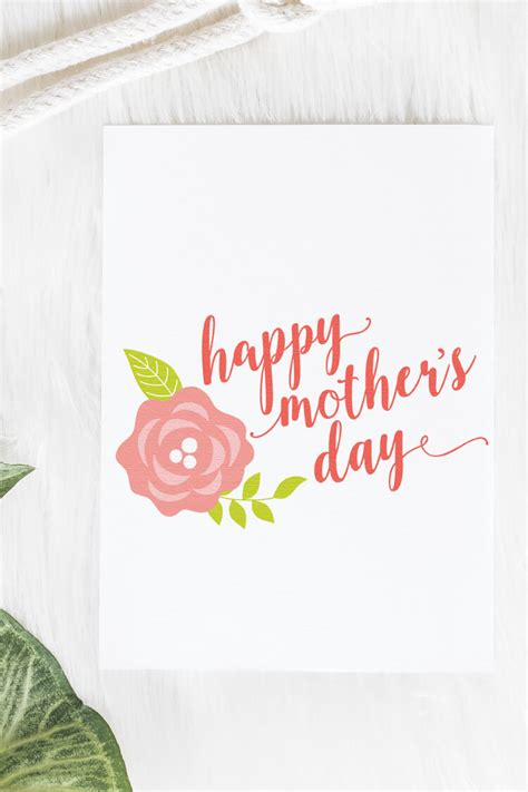 This post may contain affiliate links. Happy Mother's Day SVG Bundle - Hey, Let's Make Stuff