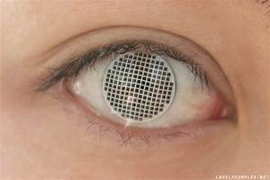 White Screen mesh contacts [review] - Lovely Complex