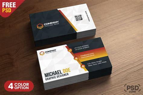 business card design templates psd psd zone