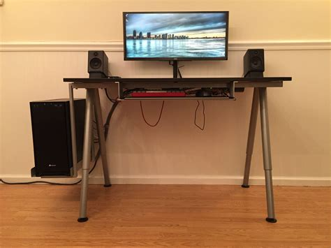 ikea computer desk reddit what of desk does r pcgaming use pcgaming
