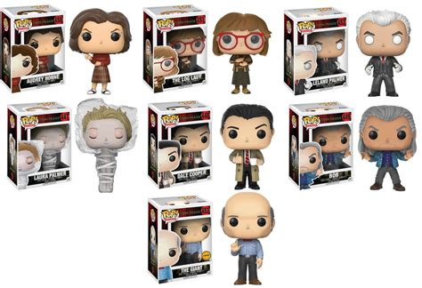 Upper Deck Customer Service by Twin Peaks Complete Set W Chase 7 Funko Pop