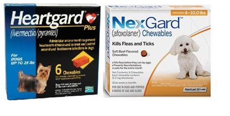 nexgard  heartgard combo  dogs   lbs  pack