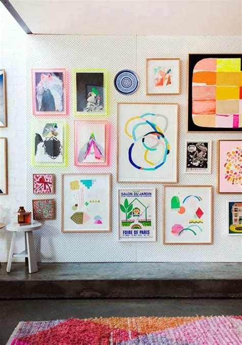 How To Do A Wall Gallery With Your Children's' Art! Paul