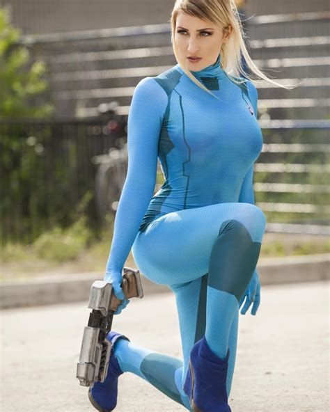 Beautiful Samus Cosplay Braves All Danger All Thats