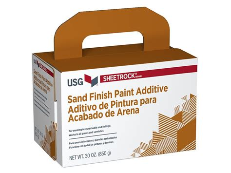 Sheetrock® Brand Sand Finish Paint Additive Usg