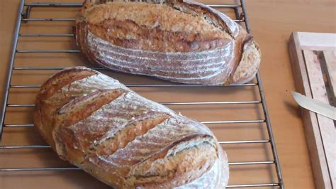 pan casero primer pan con masa madre