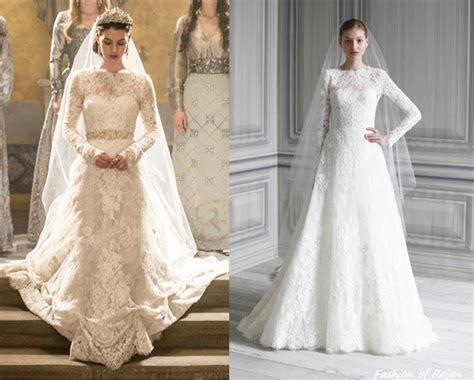 Reign Mary Wedding Dress