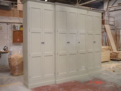 shabby chic fitted wardrobes painted tall 2 7mh large 7 door solid pine victorian style shabby chic wardrobe ebay bedroom