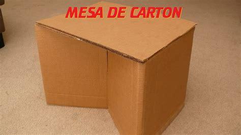 como dibujar una mesa en procreate youtube como hacer una mesa de cart 243 n how to make a cardboard
