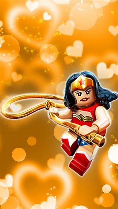 Lego Wonder Woman Dimensions Valentine Wallpapers Valentines
