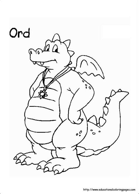 dragon tales coloring pages educational fun kids coloring pages  preschool skills worksheets