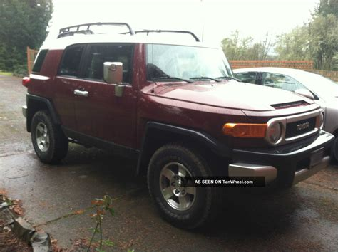 old car manuals online 2008 toyota fj cruiser security system 2008 toyota fj cruiser suv manual 4wd
