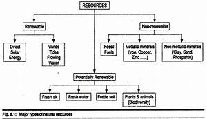 Classification Of Resources  With Diagram