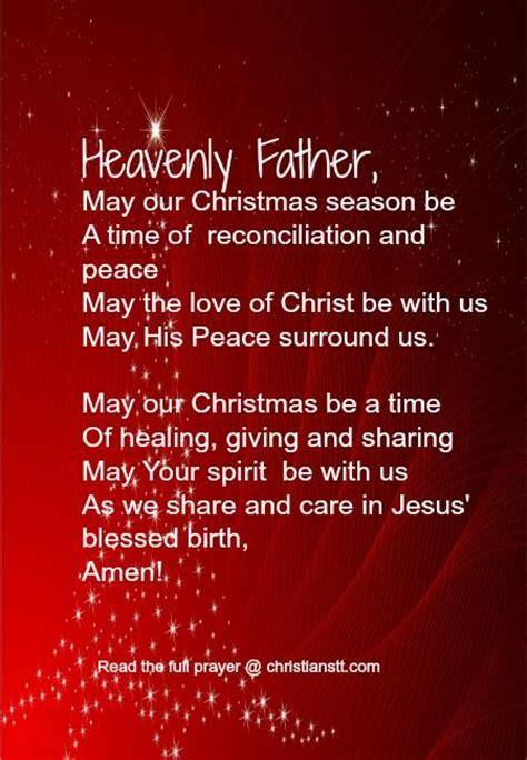 cloaing prayer for christmas progeamme a prayer the true spirit of daily prayer