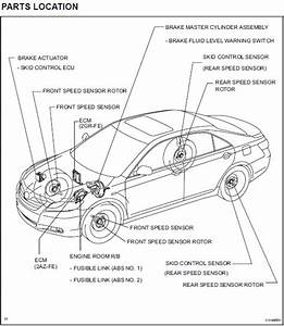 Toyota Camry Repair Manual Pdf Brake Component Location