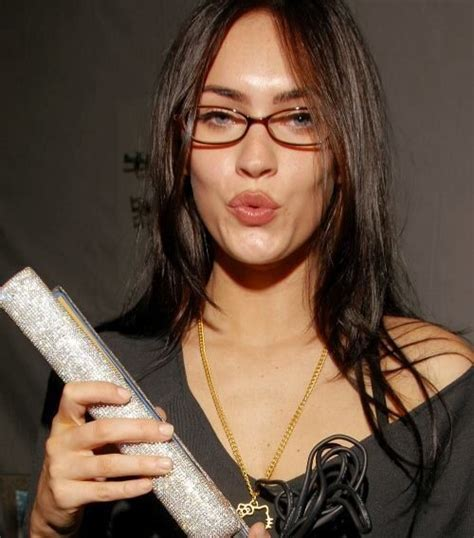 Megan Fox   Glasses   Pinterest   Foxes and Glasses