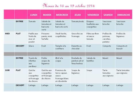 menu semaine cuisine az menus pour votre semaine du 13 au 19 octobre