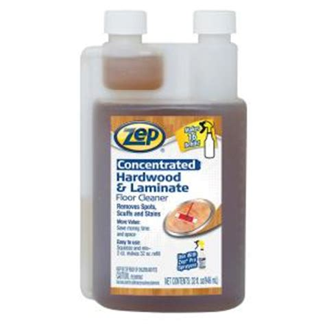 Zep Floor Cleaner Powder by Zep 32 Oz Hardwood And Laminate Floor Cleaner Concentrate