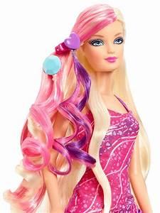 2013 GLAM HAIR BARBIE Doll Mattel Play Doll AWESOME!!  Barbie