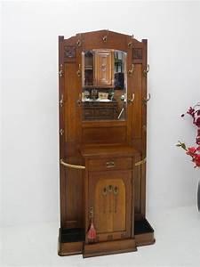 Garderobe Art Deco : garderobe wandgarderobe flurgarderobe antik art deco um ~ Michelbontemps.com Haus und Dekorationen
