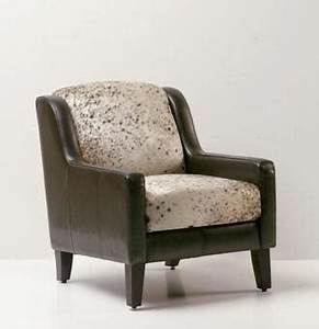 Fauteuil Peau De Vache : fauteuil en cuir peau de vache ~ Teatrodelosmanantiales.com Idées de Décoration