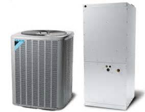 7 5 Ton Daikin Split Heat Pump Central Air System 208  230v Or 460v 3 Phase