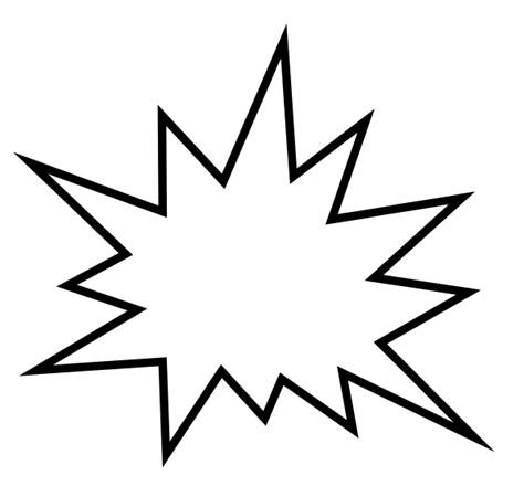zap clipart black and white pow clip at clker vector clip