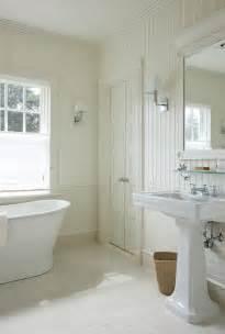 bathroom with beadboard backsplash cottage bathroom hummel