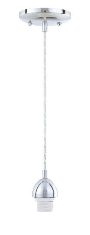 westinghouse one light adjustable mini pendant kit chrome