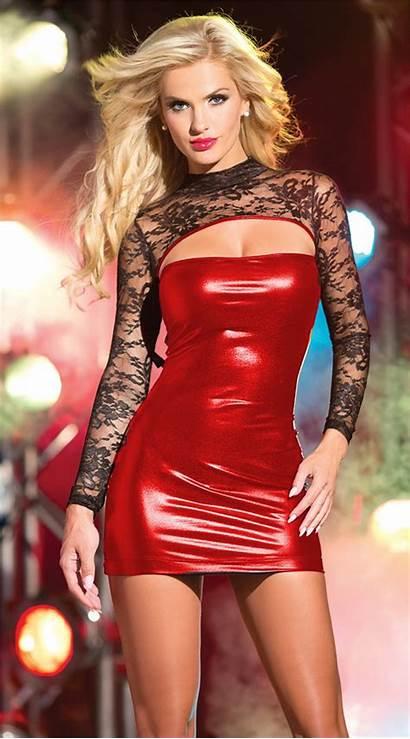Womens Leather Lingerie Wet Short Skirt Pu