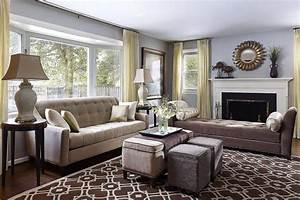 New, Best, Of, Transitional, Decorating, Ideas, Living, Room