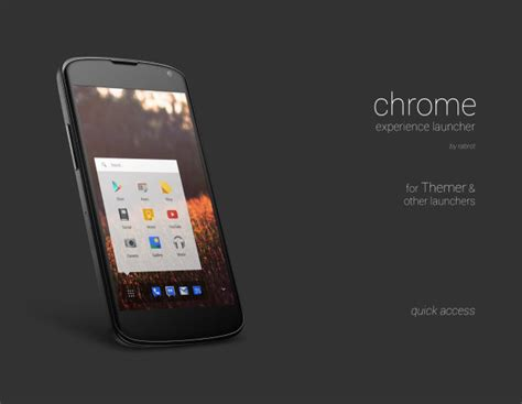 chrome for android phone get chrome experience launcher on your android smartphone