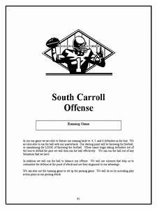South Carrol Hs Spread Offense