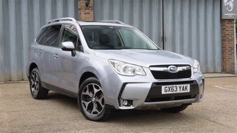 subaru forester  xt  ice silver metallic youtube