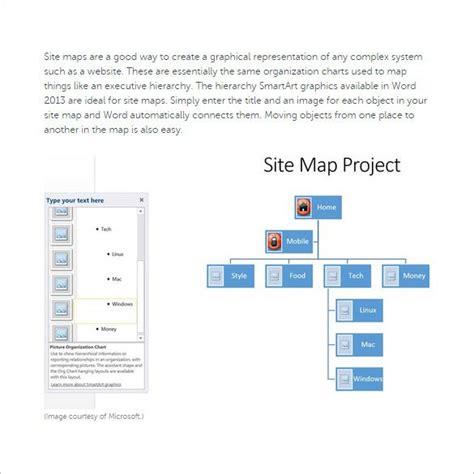 site map templates  excel  premium templates