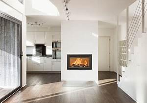Cheminée Bois Design : 20 mod les de chemin e ou po le bois c t maison ~ Premium-room.com Idées de Décoration