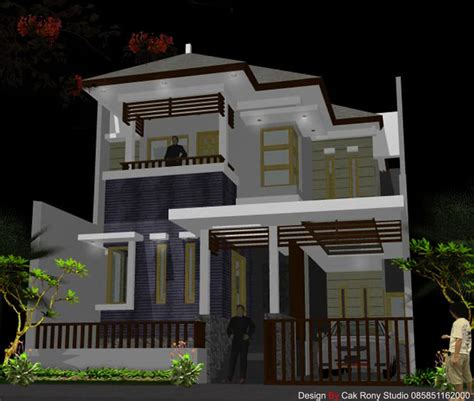 rumah minimalis modern  inspirasi desain rumah