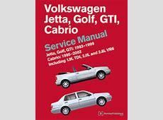 VW Volkswagen Repair Manual Jetta, Golf, GTI 19931999