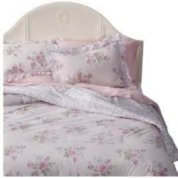 simply shabby chic 174 misty rose comforter set pink twin