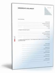 Einverständniserklärung Reise Kind Muster : vollmacht aus bung elterliche sorge muster zum download ~ Themetempest.com Abrechnung