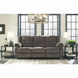 Contemporary reclining sofa by signature design by ashley for Sectional sofas wolf furniture