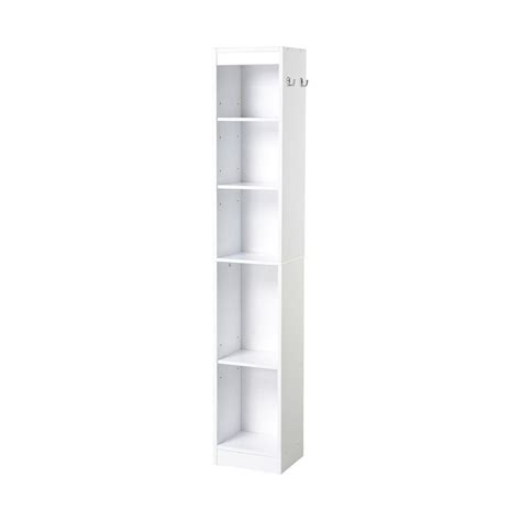Bathroom Linen Shelf by Collection 11 22 In W Laminate Bathroom Linen Tower