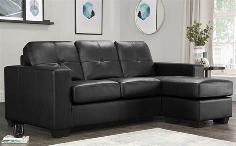 corner unit settees black leather corner sofas settee unit ebay