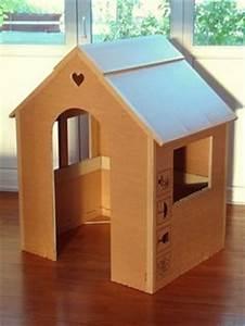 Cabane En Carton À Colorier : fabriquer une cabane en carton pour lapin ~ Melissatoandfro.com Idées de Décoration